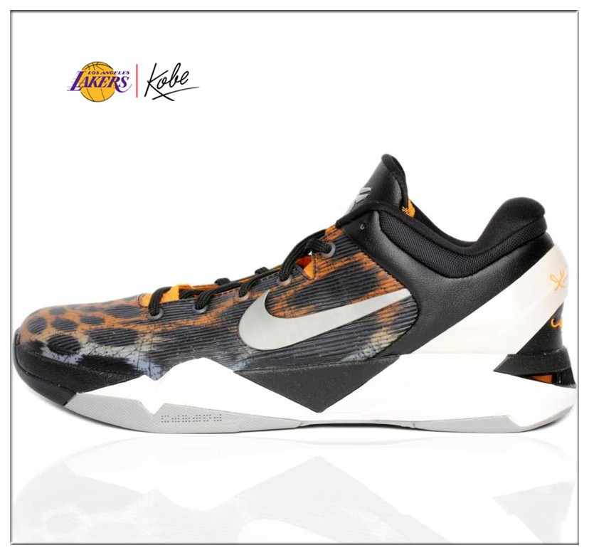Low cost Nike Kobe VII 7 System 7 Cheetah Basketball Shoes